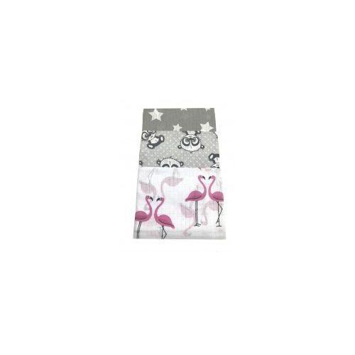Pieluchy tetrowe, Pieluszki tetrowe drukowane opk - 3szt.