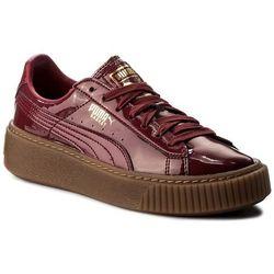 Sneakersy PUMA - Basket Platform Patent Wn's 363314 04 Tibetan Red/Tibetan Red