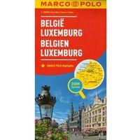 Mapy i atlasy turystyczne, Marco Polo Mapa Samochodowa Belgia Luksemburg 1:300 000 Zoom (opr. kartonowa)