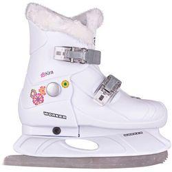 Dziecięce łyżwy regulowane WORKER Kira - Rozmiar S (29-32)