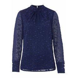 Shirt 2 w 1 bonprix indygo-jasnoszary melanż