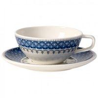 Filiżanki, Villeroy & Boch - Casale Blu Filiżanka do herbaty ze spodkiem pojemność: 0,24 l
