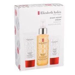 Elizabeth Arden Eight Hour Cream All-Over Miracle Oil zestaw Olejek nawilżający 100 ml + Krem na dzień 15 ml + Krem do rąk 30 ml dla kobiet