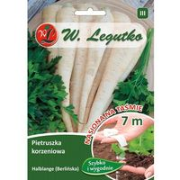 Nasiona, Pietruszka korzeniowa Halblange ( Berlińska ) nasiona na taśmie LEGUTKO 7m
