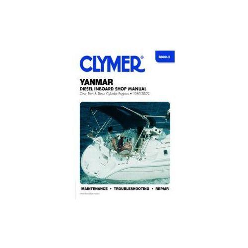 Biblioteka motoryzacji, Clymer Manuals Yanmar Diesel Inboard Shop Manual One, Two and Three Cylinder Engines 1980-2009 B800