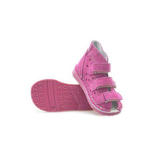 Buty profilaktyczne dla dzieci, Obuwie rehabilitacyjno-profilaktyczne Danielki WZT125 Fuksja