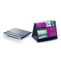 Flipchart stołowy Durastar z 10 koszulkami A3 poziomy bazaltowy 8569-39