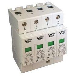 VCX Ochronnik ogranicznik przepięć CT-C-4P 4-polowy klasa C