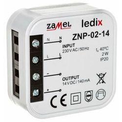 LEDIX Zasilacz LED dopuszkowy 14V DC 2W TYP: ZNP-02-14