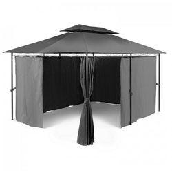 Grandezza Pawilon ogrodowy Namiot imprezowy 3x4m Stal Poliester ciemnoszary