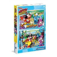 Puzzle, 2x20 elementów Special Line Mickey and the Roadster Racers