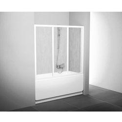 Ravak Drzwi nawannowe AVDP3 - 160 Białe + Grape 40VS0102ZG