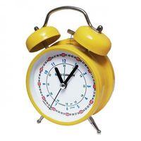 Zegary, Super cichy budzik metalowy z dzwonkami #do nauki Y