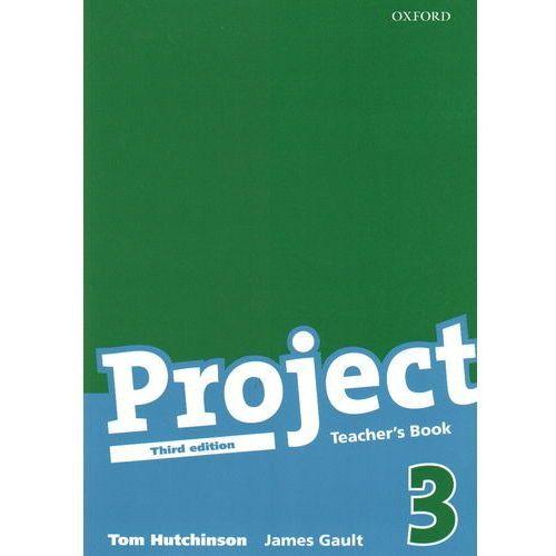 Książki do nauki języka, Project 3 Teacher`s Book (opr. miękka)