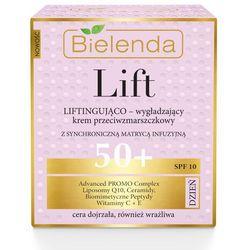 Bielenda Lift 50+ Krem liftingująco-wygładzający SPF10 na dzień 50ml - Bielenda