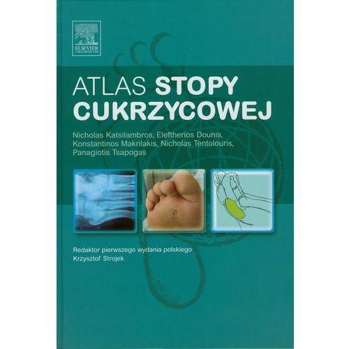 Książki medyczne, Atlas stopy cukrzycowej (opr. twarda)
