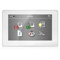 """Centralki alarmowe, INT-TSH-WSW Manipulator graficzny z ekranem dotykowym 7"""" biały Satel"""