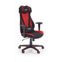 Fotel gabinetowy Abart czarno-czerwony