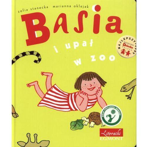 Książki dla dzieci, Basia i upał w zoo (opr. twarda)