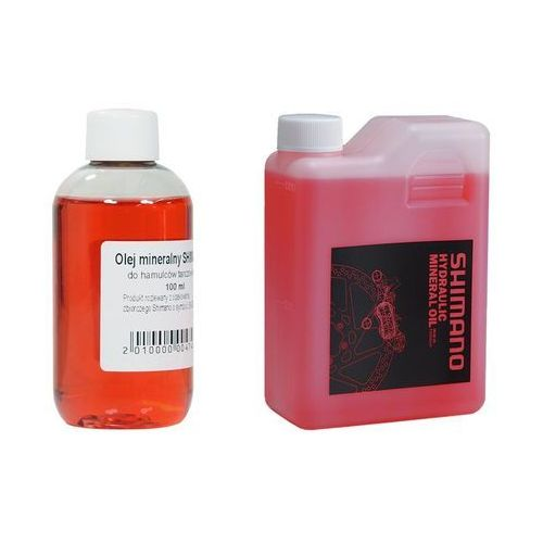 Narzędzia rowerowe i smary, Olej mineralny Shimano do hamulców hydraulicznych 100 ml