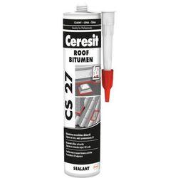 Uszczelniacz dekarski Ceresit 300 ml czarny