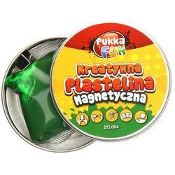 Plastelina kreatywna magnetyczna zielona 60g Pukka