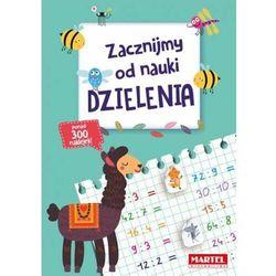 Zacznijmy od nauki dzielenia - książka (opr. broszurowa)