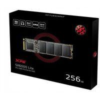 Dyski do notebooków, Adata Dysk SSD XPG SX6000 Lite 256GB PCIe 3x4 1800/900 MB/s M.2