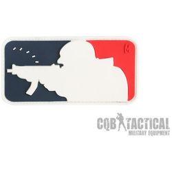 Naszywka Maxpedition Major League Shooter Patch 3 x 1,6 Color