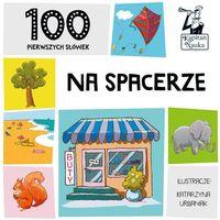 Książki dla dzieci, NA SPACERZE 100 PIERWSZYCH SŁÓWEK (opr. kartonowa)