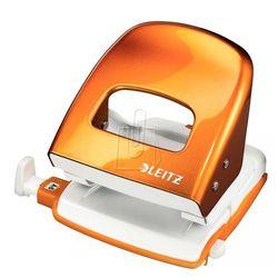 Dziurkacz Leitz WOW 5008 do 30 kartek metaliczny pomarańczowy