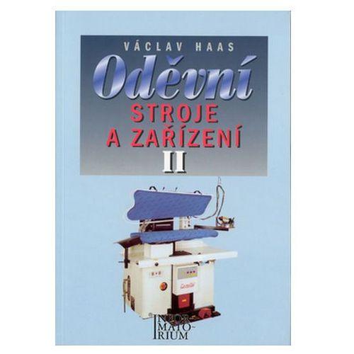 Pozostałe książki, Oděvní stroje a zařízení II V. Haas