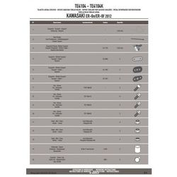 KAPPA TE4104K STELAŻ POD SAKWY BOCZNE KAWASAKI ER-6N / ER-6F 650 (12-16)