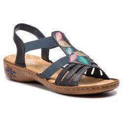 Sandały RIEKER - 60171-14 Blau
