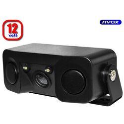 Samochodowa kamera cofania z czujnikami parkowania 12V