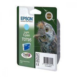 Epson oryginalny ink C13T079540, light cyan, 11,1ml, Epson Stylus Photo 1400