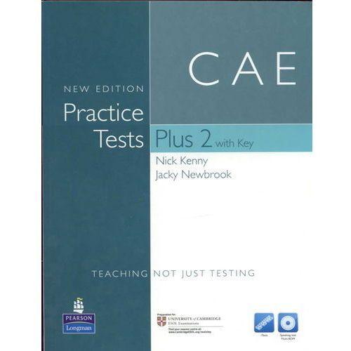 Książki do nauki języka, CAE Practice Tests Plus 2 New Edition with Answer Key, iTest CD-ROM & Audio Cds (opr. miękka)