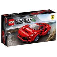 Klocki dla dzieci, 76895 Ferrari F8 Tributo KLOCKI LEGO SPEED CHAMPIONS wyprzedaż