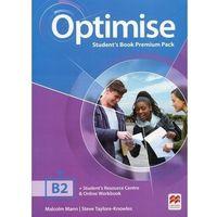 Książki do nauki języka, Optimise B2 SB Premium MACMILLAN - Malcolm Mann, Steve Taylore- Knowles (opr. broszurowa)