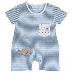 SALT AND PEPPER Baby Glück Boys Rampersy Walfisch indigo blue