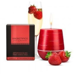 Świeca zapachowa MAGNETIFICO Aphrodisiac Candle Sweet Strawberry 34h