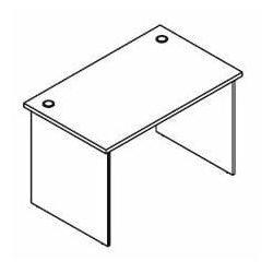 Biurko proste BH71 wymiary: 116x70x75,8 cm