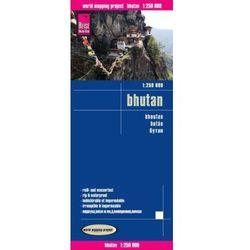 World Mapping Project Reise Know-How Landkarte Bhutan (1:250.000). Bhoutan / Bután
