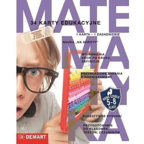 Pozostałe artykuły szkolne, Karty edukacyjne - Matematyka