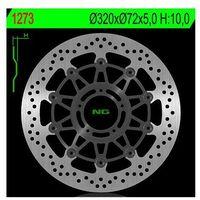 Tarcze hamulcowe do motocykla, NG1273 TARCZA HAMULCOWA DUCATI 796/821/1078/1100/1200 '11-'16 (320X72X5) (5X8,5MM)