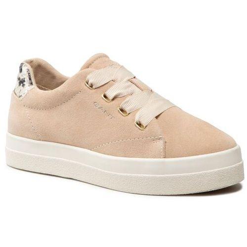 Damskie obuwie sportowe, Sneakersy GANT - Avona 22531535 Beige/Earth G106