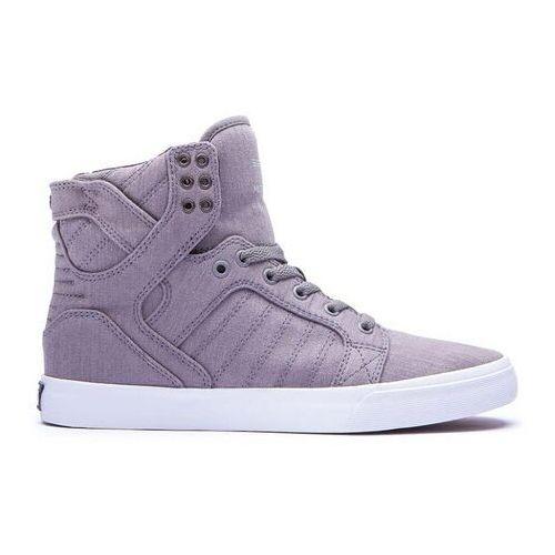 Męskie obuwie sportowe, buty SUPRA - Skytop Grey/Print/White (GPR) rozmiar: 45.5