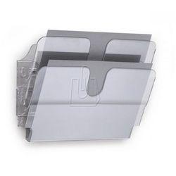 Zestaw dwóch poziomych pojemników Durable FLEXIPLUS A4 przezroczysty 1709014400
