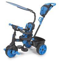 Rowerki trójkołowe, Little Tikes Trójkołowy rowerek 4w1 Deluxe, szary/niebieski