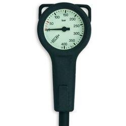 Manometr TecLine Slim, 400 bar 52 mm, wąż HP 80 cm